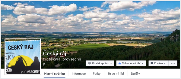 Facebook Český ráj.